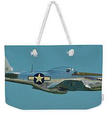 P 51d Mustang Weekender Tote Bag