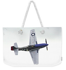 P-51 D Wing Over Weekender Tote Bag