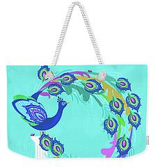 P Is For Peacock Weekender Tote Bag