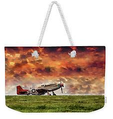 P51 Warbird Weekender Tote Bag
