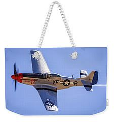 P51d Mustang At Reno Air Races Weekender Tote Bag