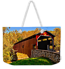 Pa Covered Bridge Weekender Tote Bag