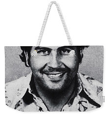 Pablo Escobar Mug Shot 1991 Vertical Weekender Tote Bag
