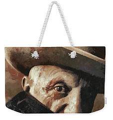 Pablo Picasso Weekender Tote Bag by Dragica Micki Fortuna