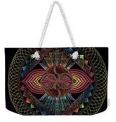 Pachamama Weekender Tote Bag by Keiko Katsuta