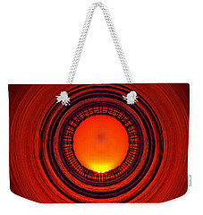 Pacific Beach Pier Sunset - Abstract Weekender Tote Bag