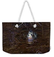 Weekender Tote Bag featuring the photograph Pacific Black Duckling by Miroslava Jurcik
