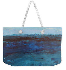 Pacific Blue Weekender Tote Bag