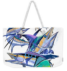 Pacific Gamefish  Weekender Tote Bag by Carey Chen