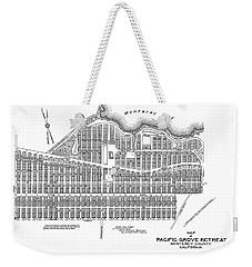 Pacific Grove May 7 1887 Weekender Tote Bag