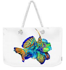 Pacific Mandarinfish Weekender Tote Bag