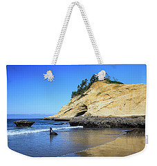 Weekender Tote Bag featuring the photograph Pacific Morning by David Chandler