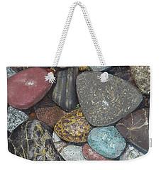 Pacific Nw Beach Rocks Weekender Tote Bag
