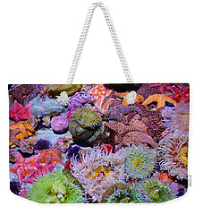 Pacific Ocean Reef Weekender Tote Bag