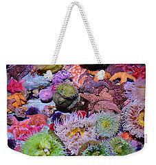 Pacific Ocean Reef Weekender Tote Bag by Kyle Hanson
