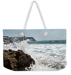 Pacific Splash Weekender Tote Bag by Yurix Sardinelly