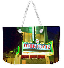 Weekender Tote Bag featuring the photograph Pacific Theater - Culver City by Chuck Staley