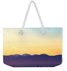Pacific Twilight Weekender Tote Bag