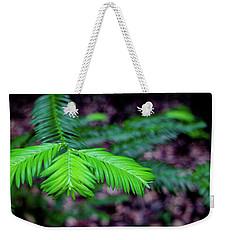 Pacific Yew Weekender Tote Bag