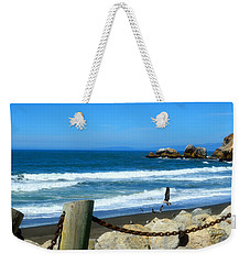Weekender Tote Bag featuring the photograph Pacifica Coast by Glenn McCarthy Art and Photography