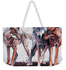 Pack Leaders Weekender Tote Bag by Mark Adlington