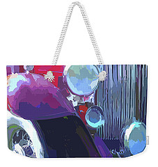 Packard Close Up Pop Weekender Tote Bag