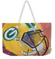 Packer Helmet Weekender Tote Bag