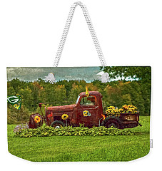 Packers Plow Weekender Tote Bag by Trey Foerster