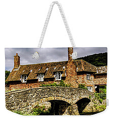 Packhorse Bridge At Alllerford, Uk Weekender Tote Bag
