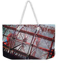 Paddle Wheel No. 7-1 Weekender Tote Bag by Sandy Taylor