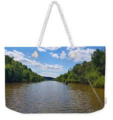 Paddling Up Crooked Creek Weekender Tote Bag