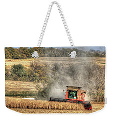 Page County Iowa Soybean Harvest Weekender Tote Bag