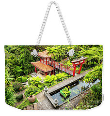 Pagoda Pool Weekender Tote Bag