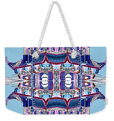 Pagoda Tower Becomes Chinese Lantern 2 Chinatown Chicago Weekender Tote Bag
