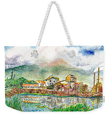 Paia Mill 1 Weekender Tote Bag by Eric Samuelson