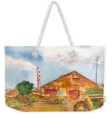 Paia Mill 3 Weekender Tote Bag by Eric Samuelson