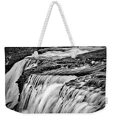 Paine River Rapids #3 - Patagonia Weekender Tote Bag by Stuart Litoff