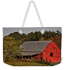 Paint It Red Weekender Tote Bag
