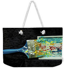 Paint My World Weekender Tote Bag by Gallery Messina