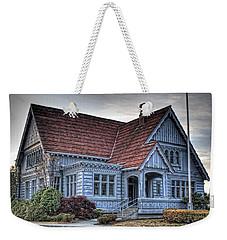 Painted Blue House Weekender Tote Bag