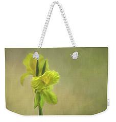 Painted Canna Weekender Tote Bag