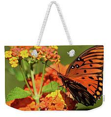 Painted Fall Colors Weekender Tote Bag
