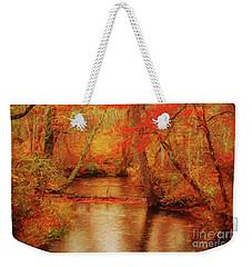 Painted Fall Weekender Tote Bag by Geraldine DeBoer