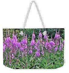 Painted Fireweed Weekender Tote Bag
