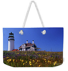 Painted Highland Lighthouse Cape Cod Weekender Tote Bag
