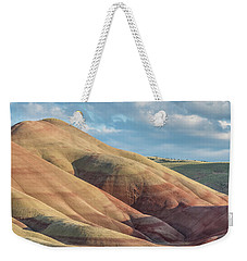 Painted Hill And Clouds Weekender Tote Bag by Greg Nyquist