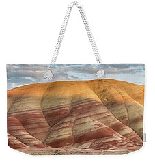 Weekender Tote Bag featuring the photograph Painted Hill At Last Light by Greg Nyquist