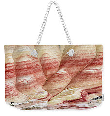 Weekender Tote Bag featuring the photograph Painted Hill Bumps by Greg Nyquist