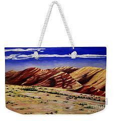 Painted Hills Weekender Tote Bag by Lisa Rose Musselwhite