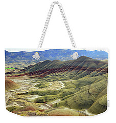 Painted Hills Panorama  Weekender Tote Bag